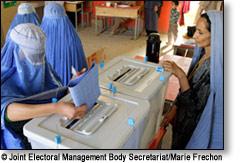 Vote femme Afghanistan