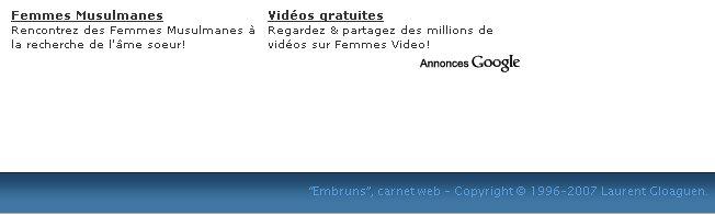 Embrun Laurent Gloaguen vend son blogue pour quelques euros a GoogleAdsens