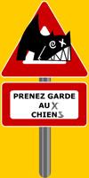 Prenez garde aux chiens logo
